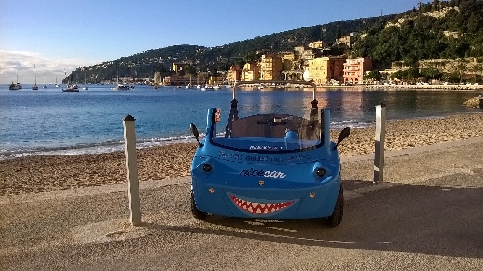 Nice Car Gps Guided Tour Of Nice Azur Vibes